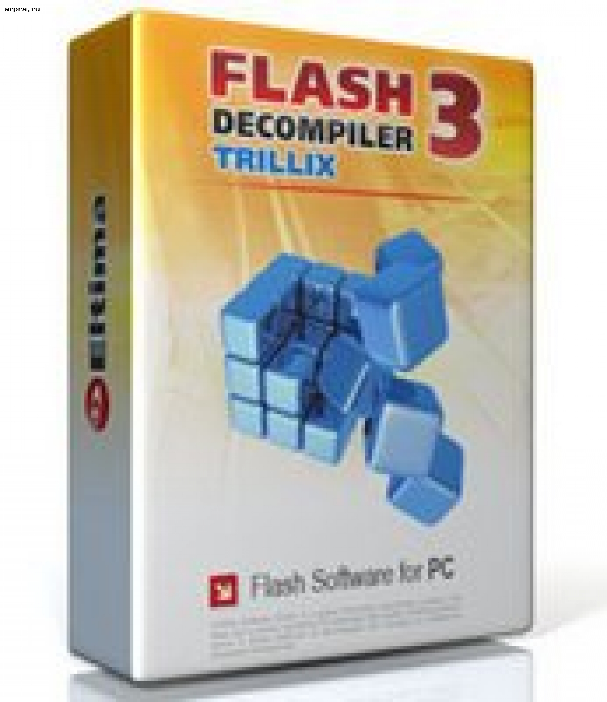 Flash Decompiler Trillix v 5.1.1140 Portable (русский)