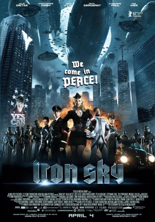 Скачать Железное небо / Iron Sky (2012/WEB-DL) | Трейлер торрент
