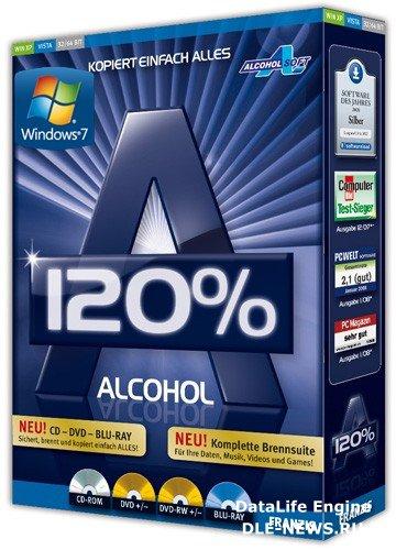 Скачать Alcohol 120% 2.0.1.2033 Retail (2010/Multi/Rus) | Тихая установка торрент