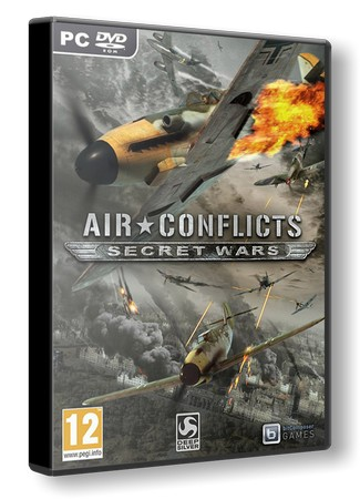 Скачать Air Conflicts: Secret Wars (2011/РС/RePack/RUS) | от Fenixx торрент