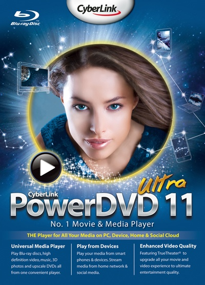 Скачать CyberLink PowerDVD 11 Ultra (2011/PC/Русский) | RePack торрент