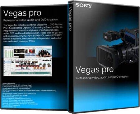Sony Vegas Pro 11.0 [2012, RUS]