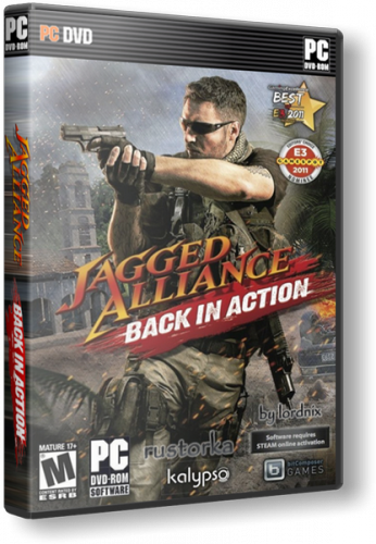 Скачать Jagged Alliance: Back in Action [v1.05 + 4 DLC] (2012/PC/RUS) | SteamRip торрент